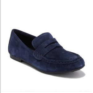 Born Barnstable Driving Suede Penny Loafer